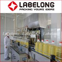 Buy cheap Low price Linear type Pet Bottle Oil Filling capping labeling Machinery/machine from wholesalers