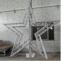 Buy cheap Party Bolt Circular Truss Aluminum For Concert / Cabaret Star Shaped Five Corners from wholesalers