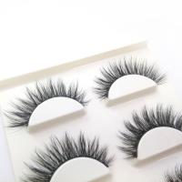 Buy cheap Create your own brand horse hair fake eyelashes wispy from wholesalers