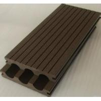 Buy cheap wood grain waterproof WPC crack-resistant decking good price wood plastic composite decking extruded plastic from wholesalers