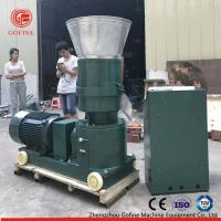 Buy cheap Flat Die Type Pellet Mill Machine For Worm Waste Making Organic Fertilizer from wholesalers
