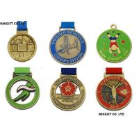 Buy cheap Custom High Quality sport pin and badges  ,High Quality  Enamel Metal Running Medal with Transfer Printed from wholesalers