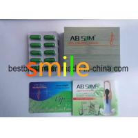Buy cheap Ab Slim Capsule - Celliuose Capsule Green Botanical Weight Loss Pills from wholesalers
