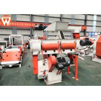 Buy cheap Customized Voltage Animal Feed Pellet Making Machine 1.5 - 12mm Final Pellet Size from wholesalers