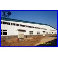 Buy cheap Durable Corrugated Long Span Steel Structure / Painted Workshop Framework from wholesalers