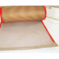 Buy cheap Heat Insulation Teflon Coated Fiberglass Mesh Conveyor Belt For Fire Retardant from wholesalers