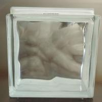 Buy cheap The most popular design CLOUDY clear wholesale glass blocks prices in China from wholesalers