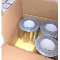 Buy cheap GRAY COLOR BUTYL RUBBER ADHESIVE WITH COLORFUL ALUMINIUM FOIL FLASHING TAPE from wholesalers