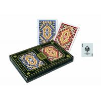 Buy cheap 100% Plastic KEM Paisely Marked Playing Cards Tricks Jumbo Index / Regular Index from wholesalers