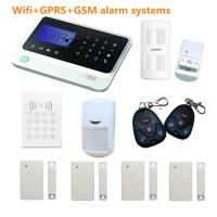 Buy cheap wifi gsm alarm system with different alarm sensors available from wholesalers