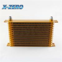 Buy cheap Aluminium Trust Oil Cooler Thoughtfully Designed 13 Row Aftermarket Racing Parts from wholesalers