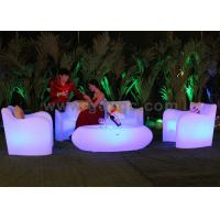 Buy cheap Plastic Fantastic RGB Bar Tables , Wireless Remote Control Coffee Table from wholesalers