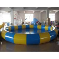 Buy cheap 0.9mm PVC Tarpaulin Inflatable Family Pool for Swimming Round from wholesalers