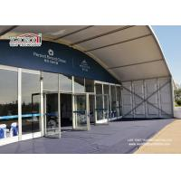 Buy cheap 1000 People Party Tent Outdoor Event Tent With Glass Wall  20x50m Aluminum Tent product