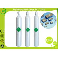 Buy cheap CF4 Carbon Tetrafluoride Electronic Gases / Refrigerant R14 Gas from wholesalers