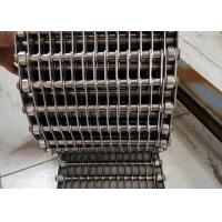 Buy cheap Chopped Vegetables Frozen Eye Link Belt , Food Grade Wire Mesh belt Easy Cleaning from wholesalers