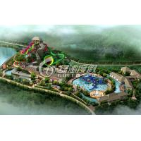 Buy cheap Outdoor Commercial Water Park Project / Water Park Design with Spiral Water Slide , Water Toys from wholesalers