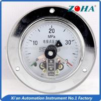 Buy cheap Magnetic Electric Contact Pressure Gauge For Measuring The Gases And Liquids from wholesalers