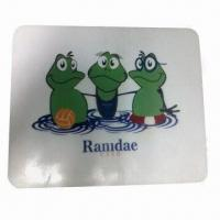 Buy cheap Mouse Pads, Made of 100% Silicone, Various Shapes/Colors are Available product