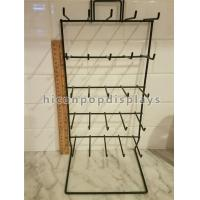 Buy cheap Simple Hanging Retail Display Fixtures 5 Tier 25 Prong Wire Counter Display Rack from wholesalers