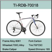 Buy cheap 700C Aluminium Alloy Road Bike with Shimano 18 Speed from wholesalers