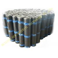 Buy cheap Flat Self Adhesive Roofing Polyurethane PU Waterproof Membrane Material Black Color product