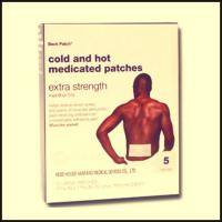 Buy cheap cold & hot pain relief patch for women and men from wholesalers