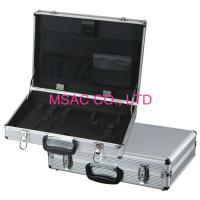 Buy cheap Silver Aluminum Travel Tool Cases , Elastic Holder for Carry Hand Tools from wholesalers