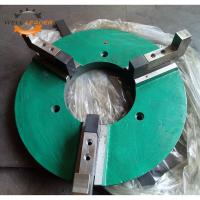 Buy cheap Custom Made Welding Positioner Chuck 3 Jaws Manual Chuck Casted Iron Material product