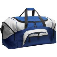 Buy cheap 600D Polyester Personalized Sports Duffle Bags Blue Color H32.4cm X W69.2cm X D34.3cm from wholesalers