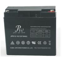 Buy cheap Valved Regulated Sealed Lead Acid Deep Cycle Battery 12 Volt 18Ah High Performance from wholesalers