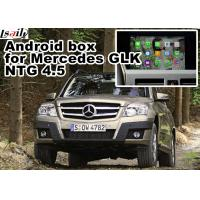Buy cheap Mercedes Benz GLK Gps Navigator Android Mirrorlink Rearview Video Play 1.6 GHz Quad Core from wholesalers