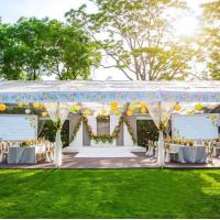Buy cheap Transparent Tent Wedding Party Canopy With Galvanized Steel Conduit Connector from wholesalers