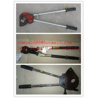 Quality Cable cutter with ratchet system,Cable scissors for sale