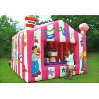 China 3*3*2.5m Inflatable Booth For Carvinal Gift Selling Weather Resistant Easy Use on sale