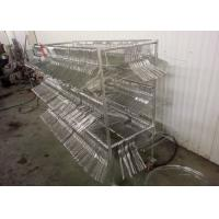 Buy cheap Bright Clean Surface Metal Wire Hanger For Laundry Product / Wholesale Wire Coat Hangers from wholesalers