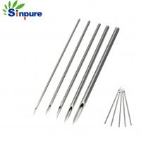 Buy cheap Customized length Sterile Navel Ear Nose Body Piercing Needles,medical needle from wholesalers
