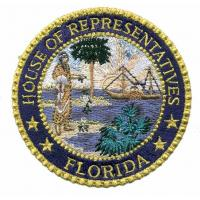 Buy cheap Custom Embroidery Patch_house of representatives Florida WGE11903 from wholesalers