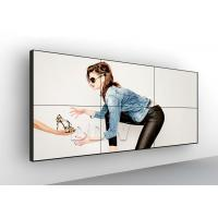 Buy cheap 55 inch 3.5 mm 700nits LG LCD video wall ultra thin bezel screen for fashion product