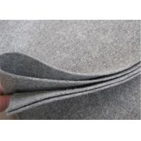 Buy cheap Grey Color Needle Punched Felt 100% Polypropylene For Gift Packaging from wholesalers