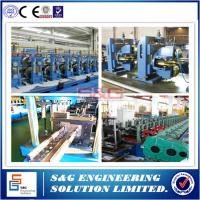 Buy cheap Flexible Guard Rail Roll Forming Machine , Storage Rack Shelf beam sheet forming machine from wholesalers
