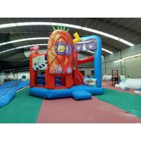 China Outdoor Sport Spongebob Jump House For Kids Playing 5Mx 6M X 4M on sale