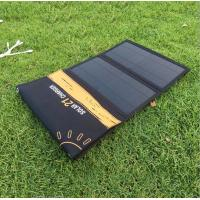 Buy cheap Solar Charger Foldable 21W Solar Panel with 2USB Ports Waterproof Camping Travel for iPhone Xs XR X 8 7 Plus, iPad from wholesalers