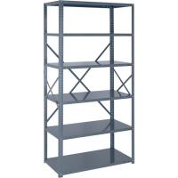 Buy cheap 18 Gauge Industrial Storage Shelving Racks Freestanding Shelving Unit from wholesalers
