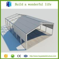 Buy cheap Simple and reasonable construction steel roof truss warehouse shed design from wholesalers