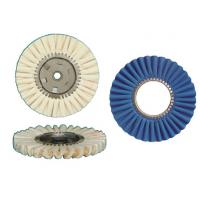 Buy cheap Cotton Open Bias Buff Airway buff cotton buff polishing wheel from wholesalers