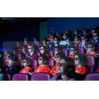 Buy cheap Different Color Motion Chairs 4D Cinema Equipment With Electronic Hydraulic System product