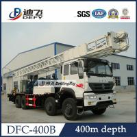 Buy cheap DFC-400B Sinotruk Truck mounted water well drill rig for sale, Hydraulic Water Well Rotary from wholesalers