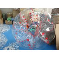 Buy cheap Outdoor Inflatable Games Adult Bubble Ball , Body Bubble Soccer Ball Suit from wholesalers
