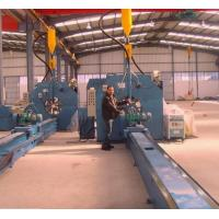 Buy cheap 16m Length Autotmatic Welding Light Pole Production Line 4KW AC Motor product